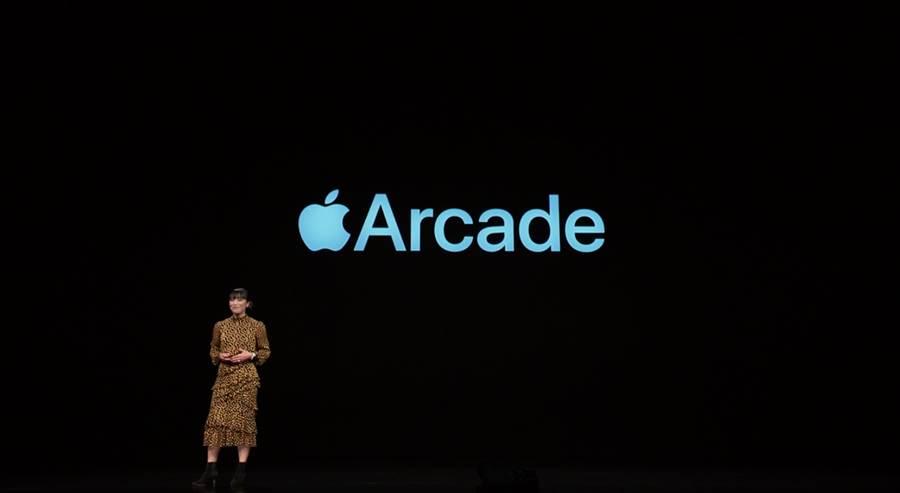 蘋果發表Apple Arcade遊戲訂閱服務。(圖/翻攝蘋果官網)