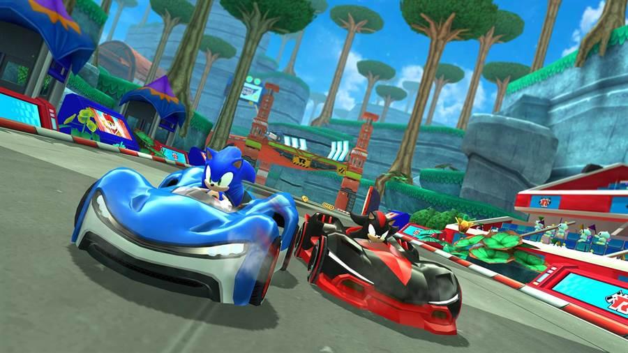 根據蘋果官網,《Sonic Team Racing》(如圖所示)是即將加入在「Apple Arcade」當中的遊戲。(圖/翻攝蘋果官網)