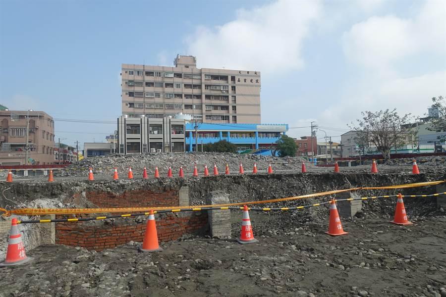 虎尾科技大學新建學生宿舍基地。(許素惠攝)