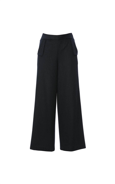 MARYLING條紋長褲,1萬4180元。(MARYLING提供)