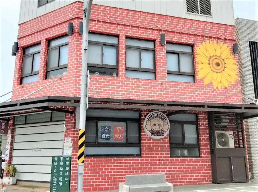 澎湖「第一站」水煎包專賣店(陳可文攝)