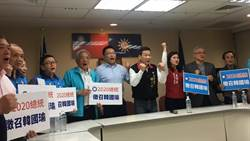 2020就是要韓國瑜!藍營3議員串聯全台黨代表連署