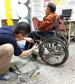 熱血青年助人夢想 幫身障者打造輔具