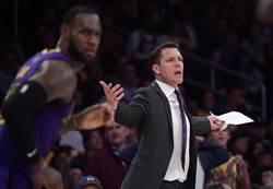 NBA》華頓下台成定局 湖人遭爆想挖卡萊爾