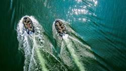 特戰濱海行軍 6人一組「水域突擊作戰訓練」