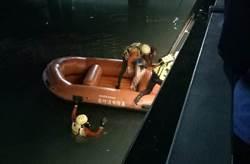 基隆女子疑跳海尋短 消防員火速救起