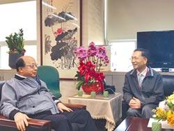 北市副市長蔡炳坤上任 胡志強會柯P