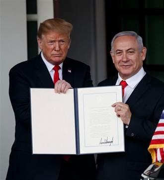 美學者:川普承認戈蘭高地屬於以色列 台灣應感到擔憂