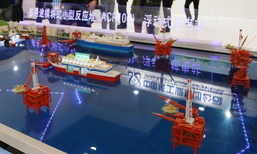 大陸稱今年將會開始興建用於南海島礁的浮動核電廠。(圖/中國核工業公司)