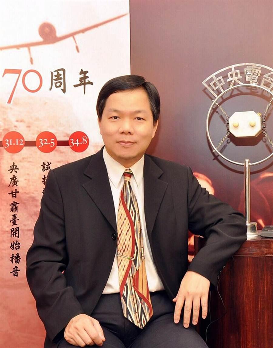 台藝大廣電系教授賴祥蔚。(摘自臉書)