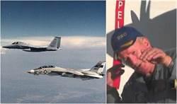 美國海軍真正的捍衛戰士 傳奇飛行員沙特帕過世