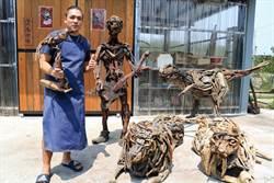 潮州藝術家潘辰皓「出走」挑戰自己 一切歸零後「漂流木」更有生命力