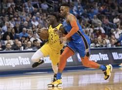 NBA》誇張27比4!韋少大三元領雷霆逆襲