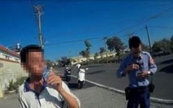 酒駕男用強風遮蓋酒氣 警機智換方位反擊