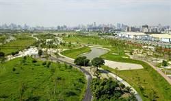 台中水湳中央公園完工 部分區域開放體驗