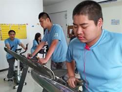 南寶樹脂捐運動器材 助身心障礙者頭好壯壯