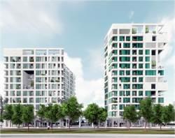 高雄都發局耗資10億 精華區建245戶社會住宅