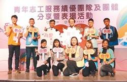 青年志工服務績優團隊 獲表揚