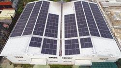 郅邦屋頂太陽光電廠 天晴能源助建
