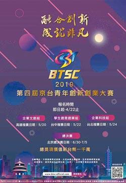 第四屆京台青年創新創業大賽總獎項千萬元