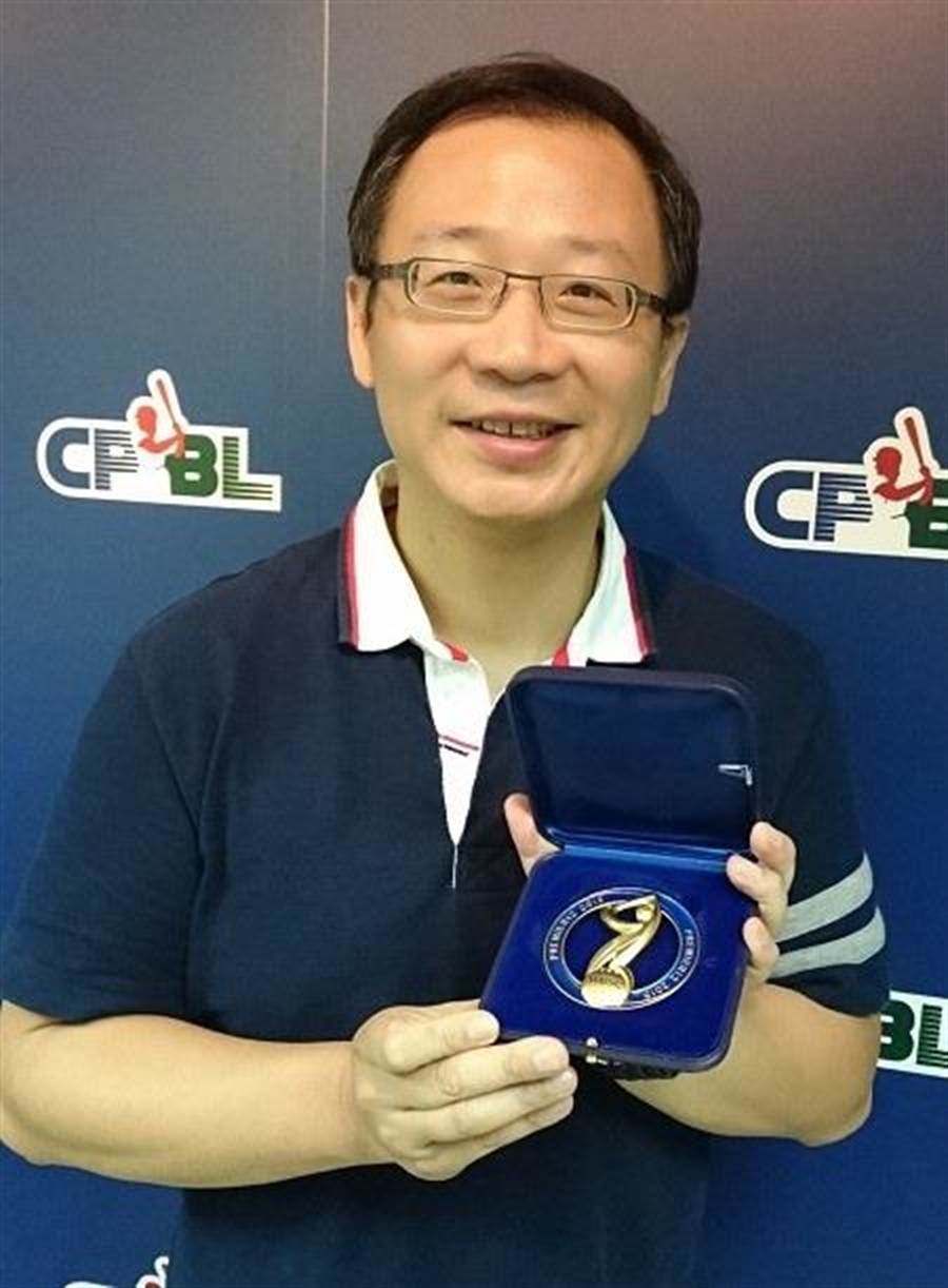 中職會長吳志揚強調味全龍申請加入中職,一定要決定主場球場。(資料照片)