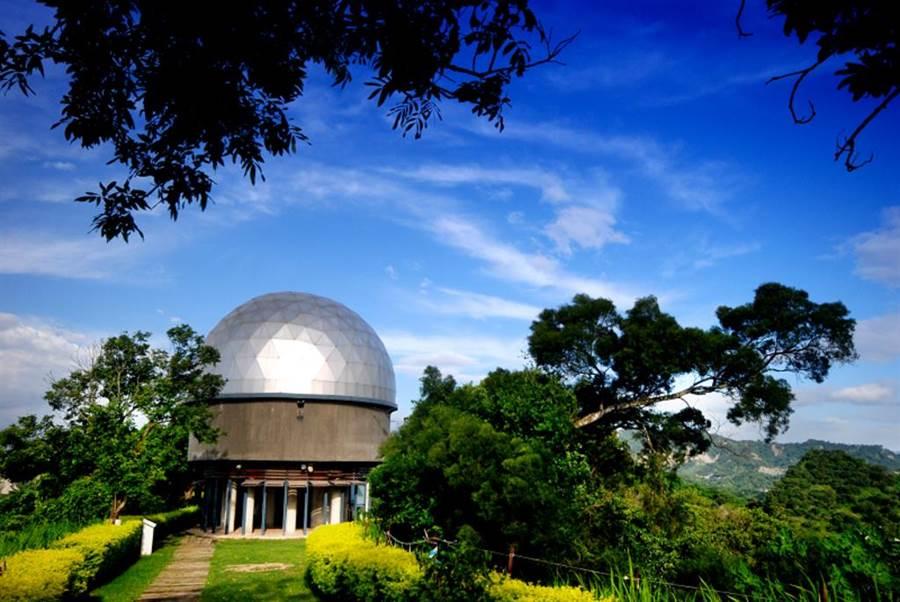 南瀛天文館。(台南市政府觀光旅遊局提供)