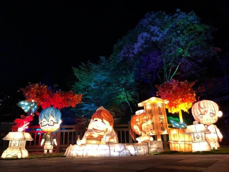 台灣燈會燈組-寶泉橋。(台南市政府觀光旅遊局提供)