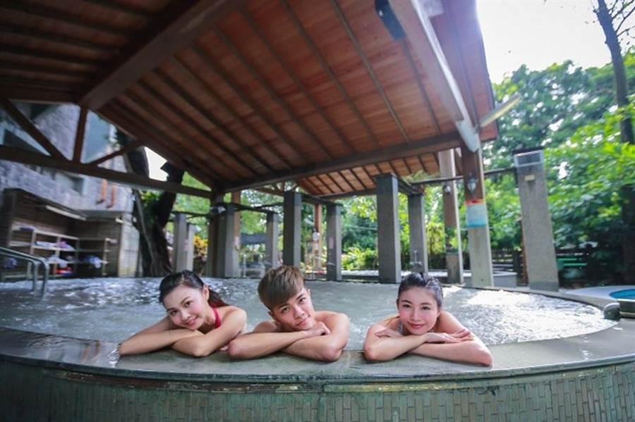 關子嶺泥漿溫泉。(台南市政府觀光旅遊局提供)