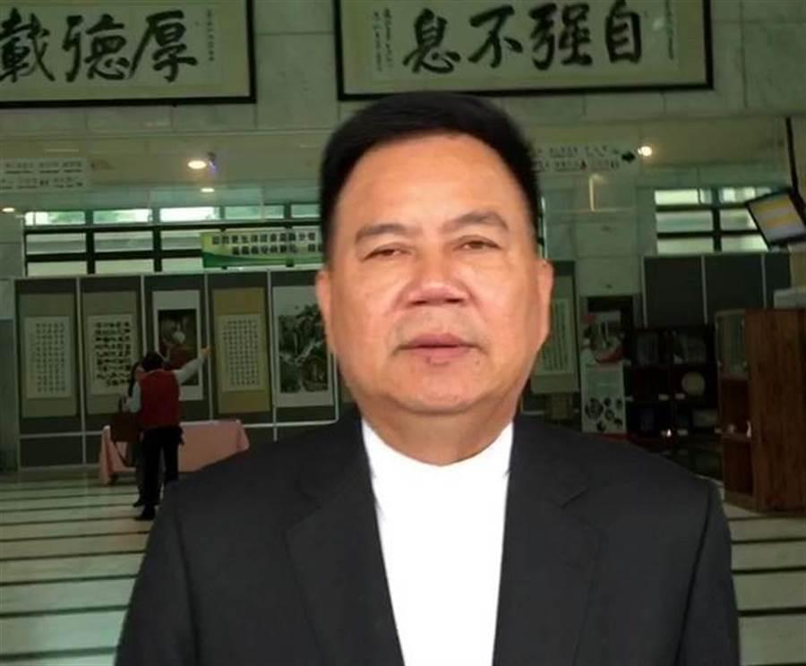 前嘉義市議員郭明賓已請辭,但檢方堅持繼續打當選無效之訴訟。(廖素慧攝)