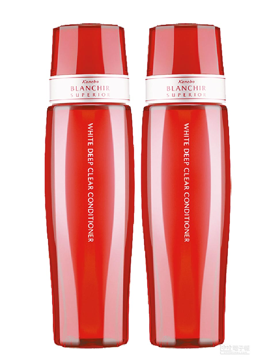 板橋大遠百化妝品搶先GO,Kanebo BLS深層美白化妝水,價值2600元、卡友價1170元再享買1送1,相當於2.2折,限量30組。(遠百提供)