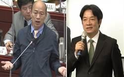 影》賴清德點名韓國瑜 2020來場君子之爭
