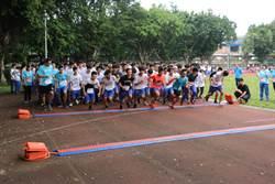 樹中高中迷你馬拉松 全校師生熱情跑出健康