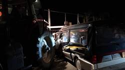 嘉義補習班交通車耕耘機車禍 駕駛身亡3學生受傷