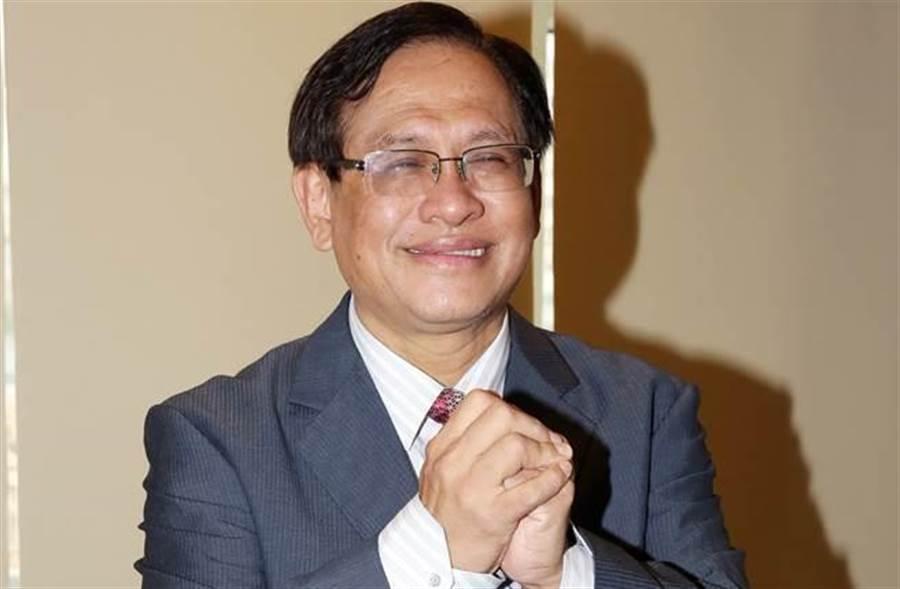 民視董事長郭倍宏,原預計在昨日召開民視臨時董事會提出辭呈,卻因人數未過半流局。(圖/中時資料照)