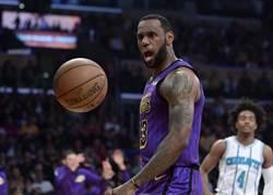 NBA》詹皇賣命摘27分 湖人斬斷黃蜂4連勝