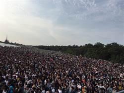 漁光島藝術節開幕 湧入近3萬人