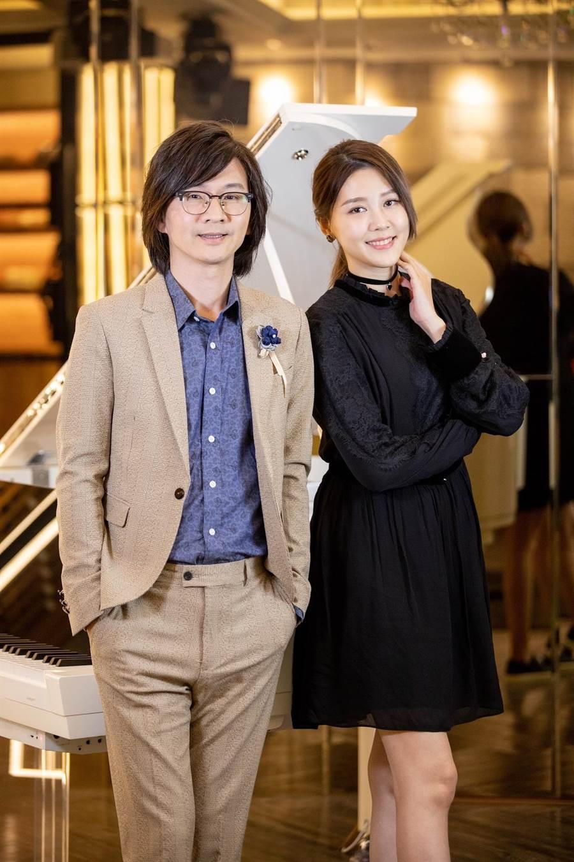 林隆璇邀請嚴立婷擔任演唱會嘉賓。(青田音樂提供)