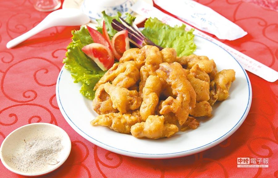 義興樓-炸卜肉(陳俊吉攝)