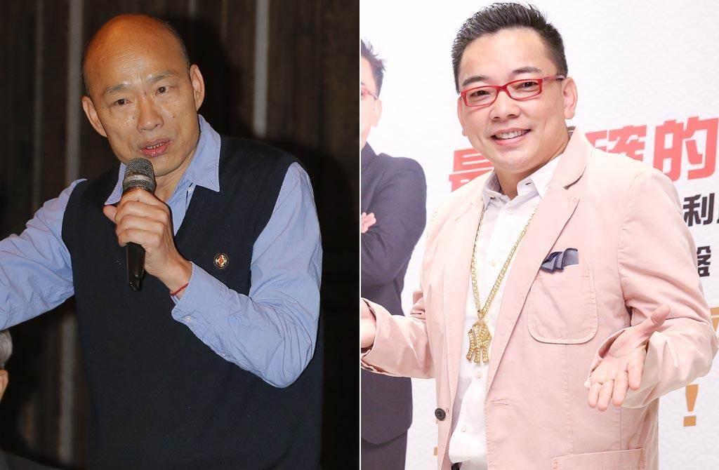 韓國瑜臉書po文明志,命理師詹惟中直讚他這是聰明的決定。(中時資料照片)