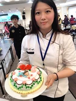 「糕」手雲集  台北城市科大獲雙金牌