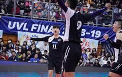 UVL》台師大男排12連霸 吳宗軒獲MVP