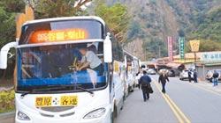 連假疏運 中橫增加通行時段