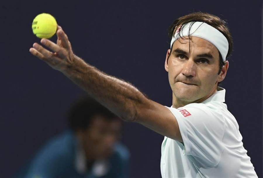 瑞士網球天王費德勒。(美聯社資料照)