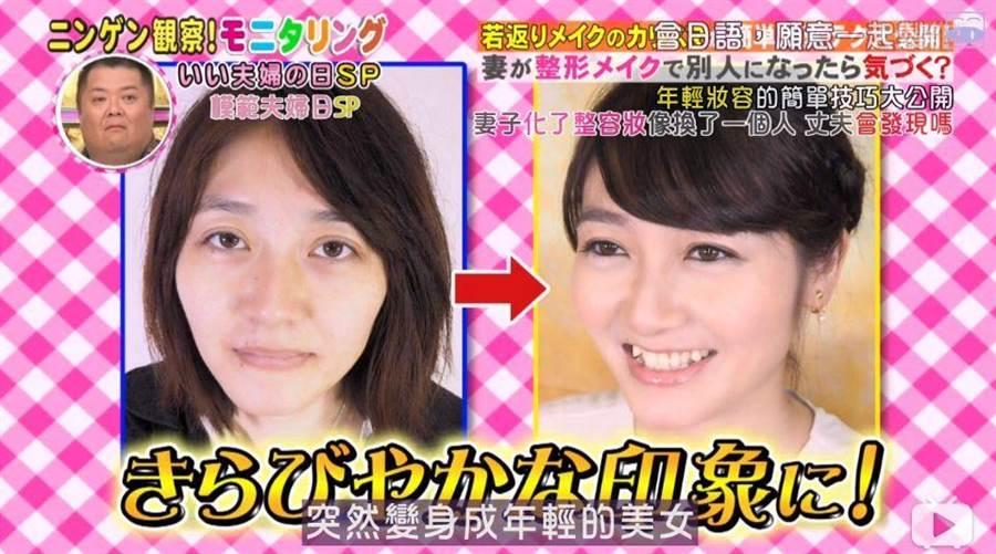 邀請來的化妝師,化妝技巧宛如整容級,一次費用就要價2萬日圓(圖翻攝自/搜狐)