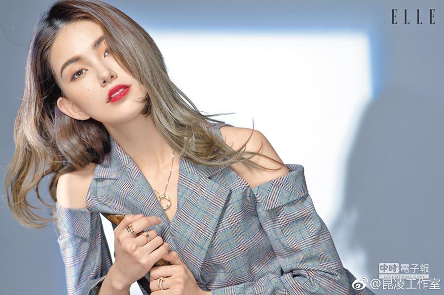 昆凌接受香港《ELLE》專訪談婚後家庭經營。(取材自微博)