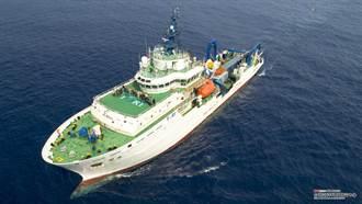 勵進研究船明天完成科學首航 新南向研究計畫邁一大步