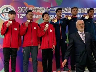 亞洲空氣槍射擊錦標賽 青少年團體我奪銀