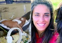 奇蹟!她腦死三個月後…順利產下寶寶