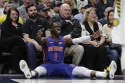 NBA》葛瑞芬缺陣 活塞客場被溜馬逆襲