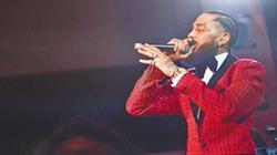 饒舌歌手尼普塞遭槍擊身亡